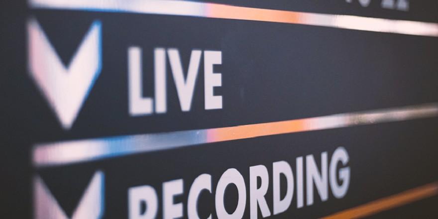 Studio di registrazione mix mastering