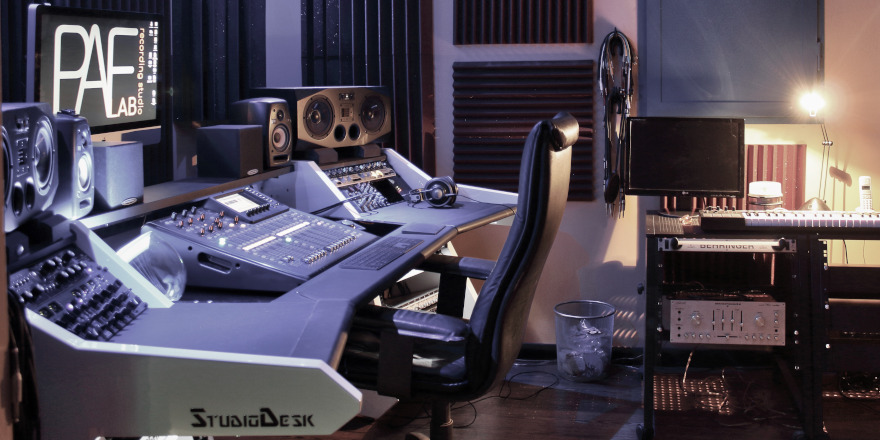 Studio di registrazione mix mastering